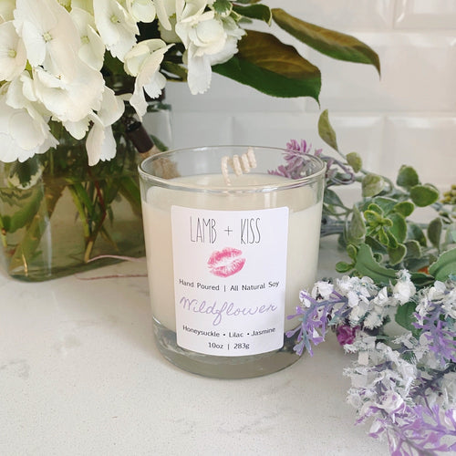 Lamb & Kiss Soy Candles - Spring Collection