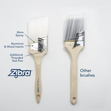 Zibra Paint Brushes