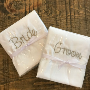 Embroidered & Heat Press Pillowcase Sets-Concession Road Mercantile