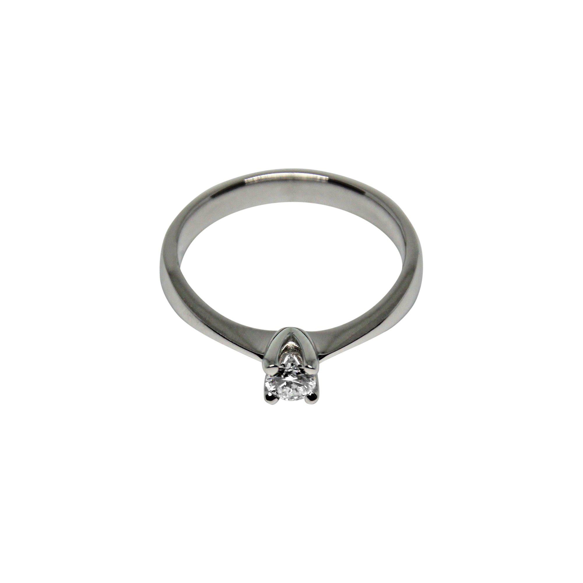 SATURN | Solitaire Ring | 0.20 ct.-Solitaire-MIKU Diamonds A/S