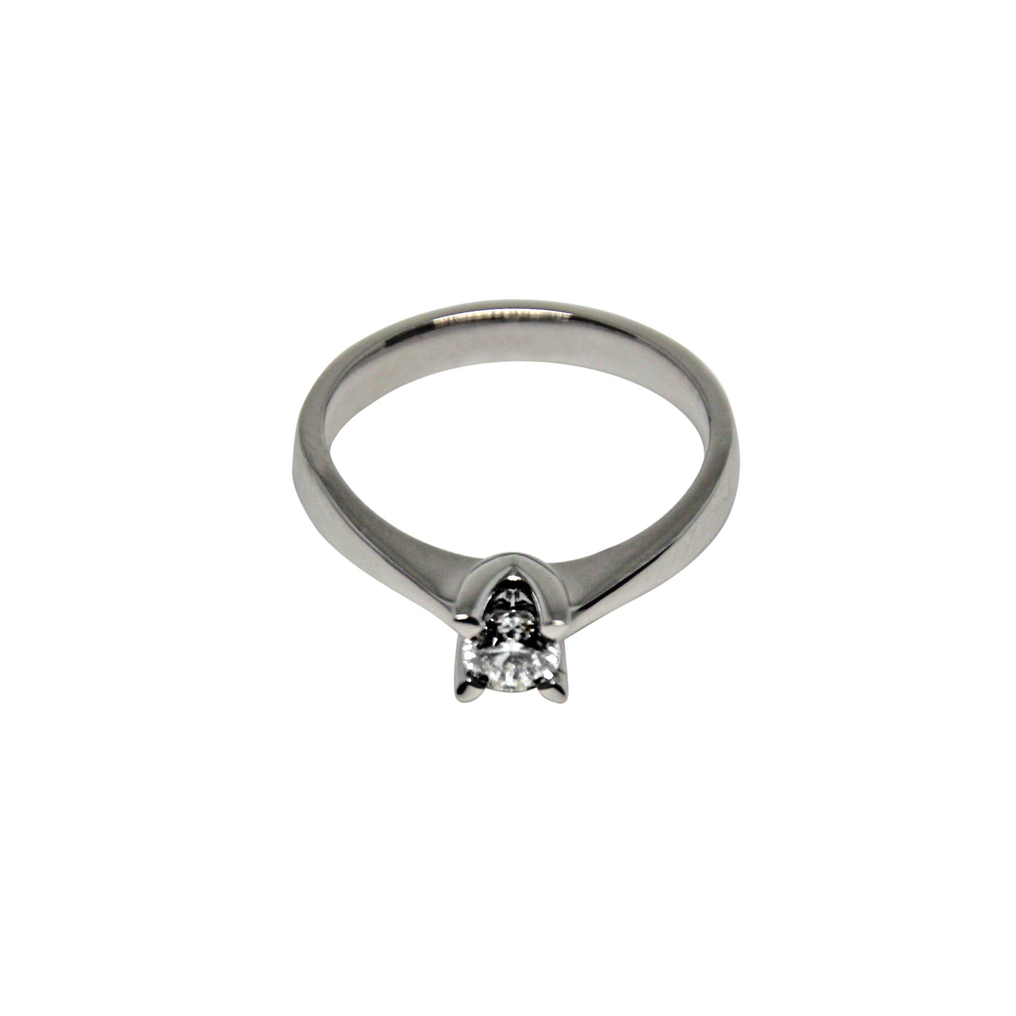 SATURN | Solitaire Ring | 0.25 ct.-Solitaire-MIKU Diamonds A/S