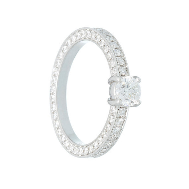 ADAMAS | Solitaire Ring | 0.40 ct.