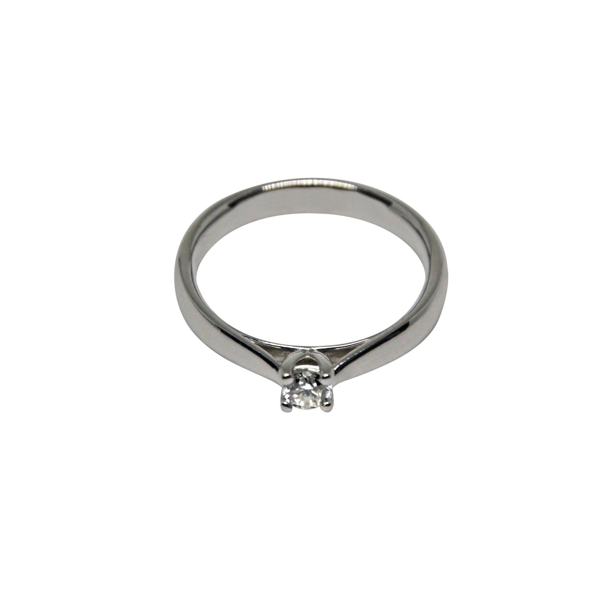 MARS | Solitaire Ring | 0.20 ct.-Solitaire-MIKU Diamonds A/S
