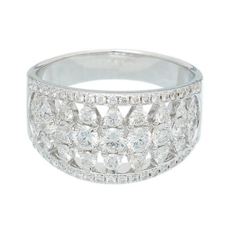 ADIRA | Semi Eternity Ring | 1.50 ct.