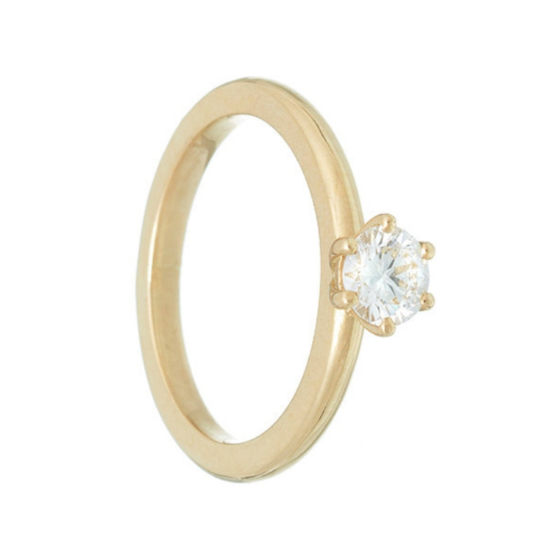 APOLLO | Solitaire Ring | 0.50 ct.