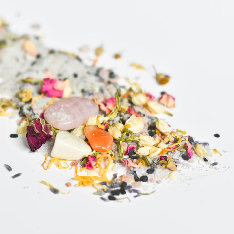 Self Love Botanical Bath Soak With Surprise Crystals