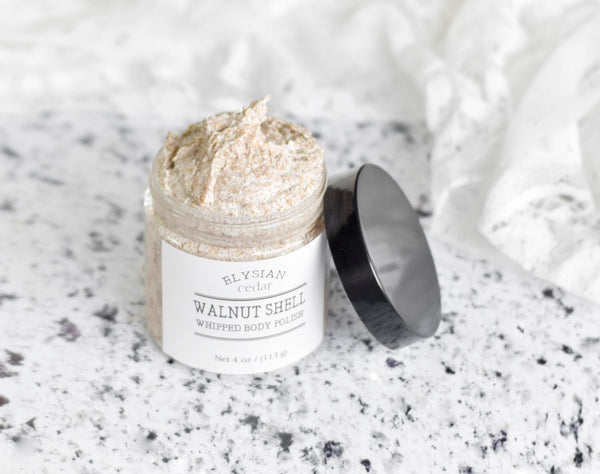 Walnut Shell Whipped Body Polish