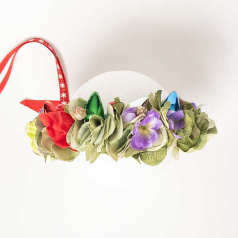 Christmas Lights Floral Crown