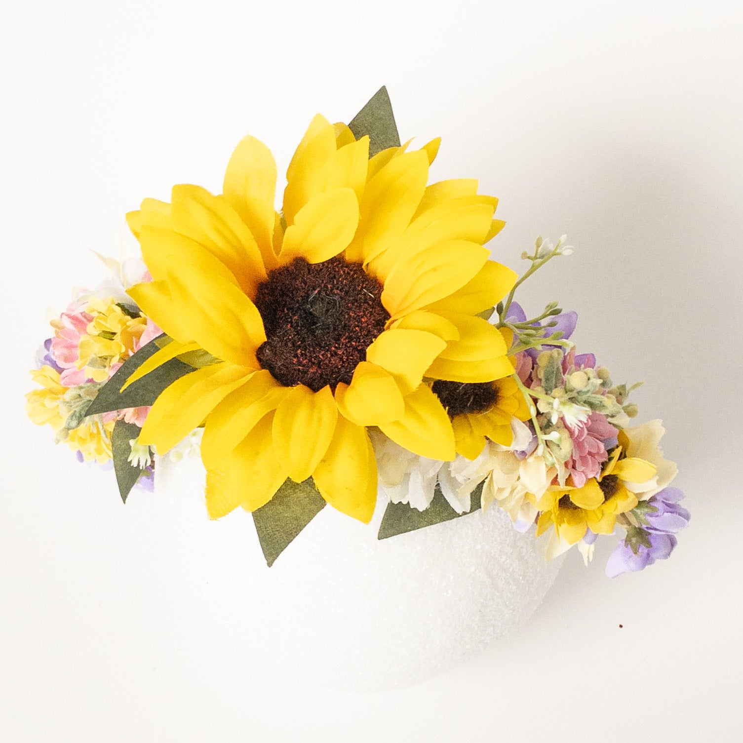 Large Summer Floral Crown