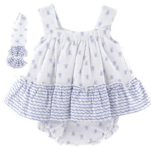 SS21 Baby Ferr Turtle Dress Set