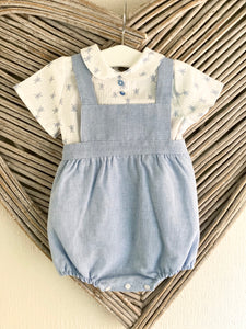 SS21 Baby Ferr Boys Turtle Romper & Top Set