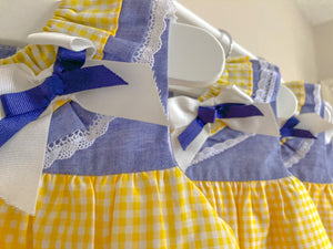 SS21 Del Sur Baby & Girls Dress Set