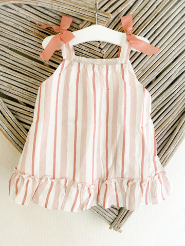 SS21 Dadati Pink Swirls Dress Set