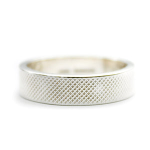 Men's Textured Ring