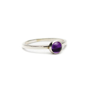 Medium Amethyst Ring