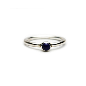 Small Blue Lapis Ring