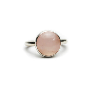 XL Rose Quartz Ring