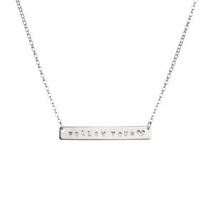 Spoke Bar Necklace
