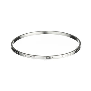 Thin Spoke Bangle