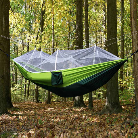 Double Hammock with Mosquito Net - mytravelsupply