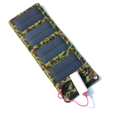 Portable USB Solar Battery Charger - mytravelsupply