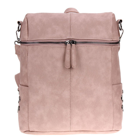 Simple Style Leather backpack - mytravelsupply