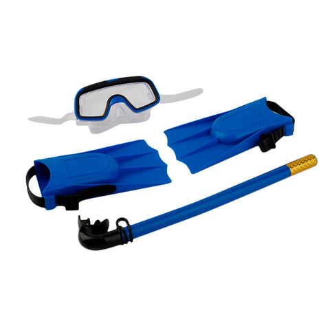 Kids Diving Mask, Breathing Tube & Fins - mytravelsupply