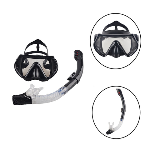 Professional Scuba Diving Mask with Snorkel - mytravelsupply