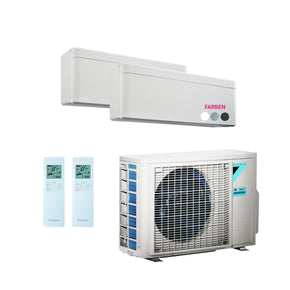 Daikin Multisplit Set R32 3MXM40N - Stylish 2x 3,5 kW