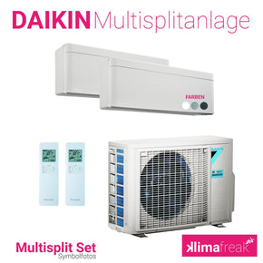 Daikin Multisplit Set R32 2MXM50M - Stylish 2x 4,2 kW - Multisplitklimaanlage - klimafreak.at