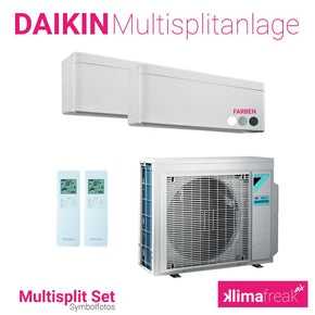 Daikin Multisplit Set R32 3MXM68N - Stylish 2x 5,0 kW - Multisplitklimaanlage - klimafreak.at