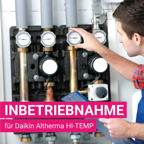 Inbetriebnahmepaket Daikin Altherma HI-TEMP - Montage- & INB Paket - klimafreak.at