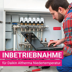 Inbetriebnahmepaket Daikin Altherma Niedertemperatursysteme - Montage- & INB Paket - klimafreak.at