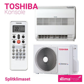 Toshiba Konsole R32 3,5 kW Set - Splitklimaanlage - klimafreak.at