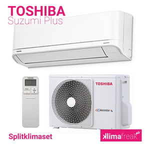 Toshiba Suzumi Plus R32 3,5 kW Set - Splitklimaanlage - klimafreak.at