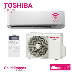 Toshiba Seiya R32 4,2 kW Set - Splitklimaanlage - klimafreak.at