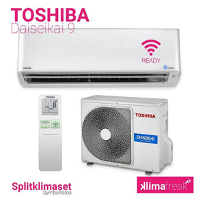 Toshiba Daiseikai 9 R32 3,5 kW Set - Splitklimaanlage - klimafreak.at