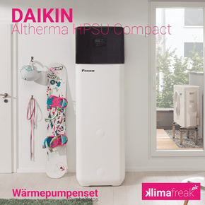 Daikin Altherma Compact R410A 4,0 kW Set - Wärmepumpen - klimafreak.at