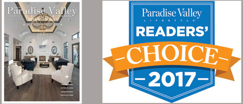 Paradise Valley Readers Choice Award