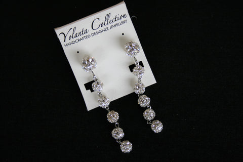 Yolanta Collection - Disco Swarovski Crystal Dangles
