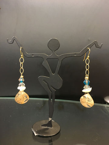 Bebbled Stones Earrings