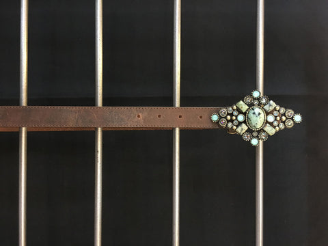 Leatherock - Brown Leather Belt