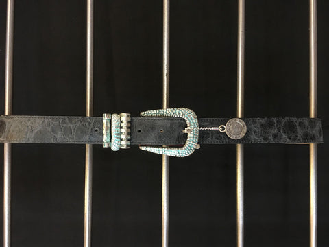 Leatherock - Dark Grey Belt