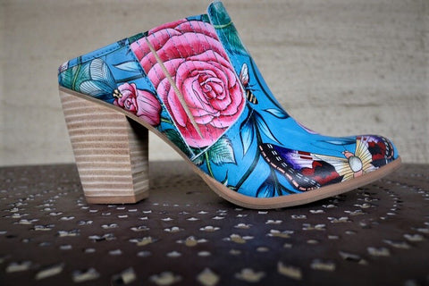 Butterfly and Floral Luxury Heels