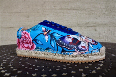 Summer Luxury Floral Shoes