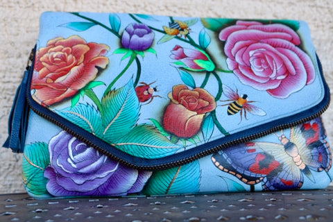 Anuschka - Butterfly Clutch