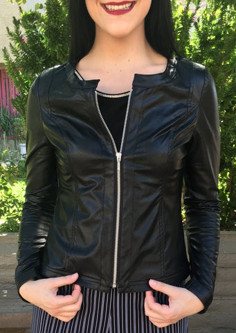 Jane & John Leather Jacket
