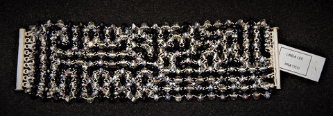 Linda Lee - Faceted Crystal Bracelet