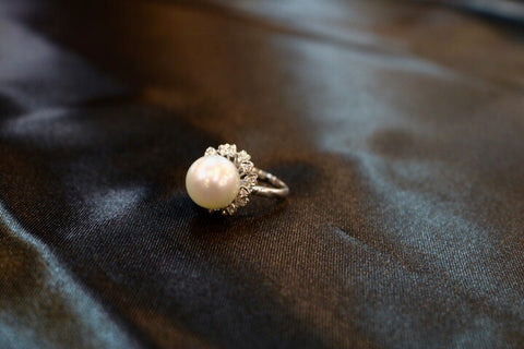 Linda Lee - Australian South Sea Pearl Ring
