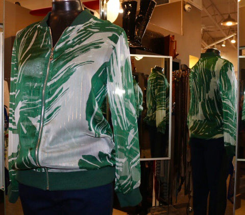 Betsy Moss - Palm Style Bomber